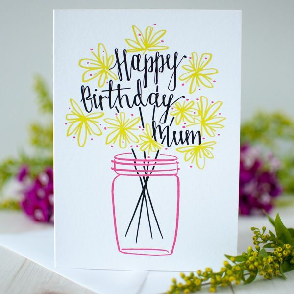 Birthday Greeting Cards For Mother