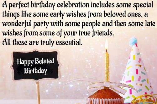 Happy Belated Birthday Greeting And Messages For Girlfriend